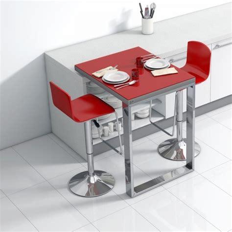 table de cuisine plan de travail table de cuisine d 39 appoint en verre fixation plan de