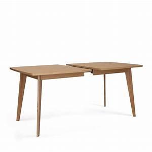 Table Extensible Bois Massif : table bois clair extensible ~ Teatrodelosmanantiales.com Idées de Décoration