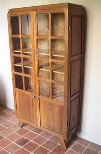 Armoire Parisienne Vintage : armoire vitrine parisienne ann es 1950 vendu atelier ~ Teatrodelosmanantiales.com Idées de Décoration