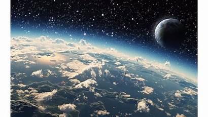 Space 4k Earth Wallpapers Desktop Resolution Mobile