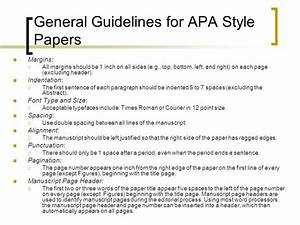 guidelines in writing a research paper rules in writing a research