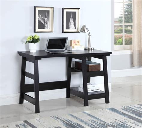 Desk For Home Office by Home Office Desks Transitional Black Writing Desk
