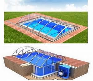 Pool Mit überdachung : pool komplettset albixon quattro b klasik clear mit berdachung schwimmbecken und ~ Eleganceandgraceweddings.com Haus und Dekorationen