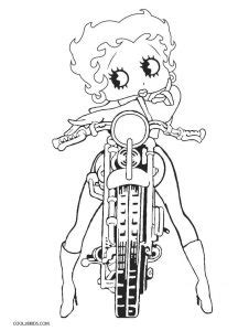 printable betty boop coloring pages  kids coolbkids