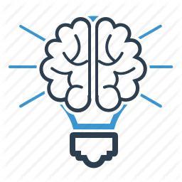 thinking brain png brain bulb creative creativity idea productivity
