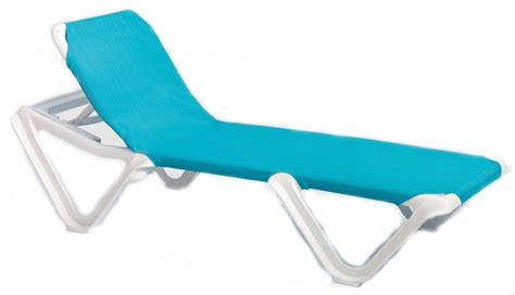 chaises grosfillex grosfillex nautical adjustable resin sling chaise lounge