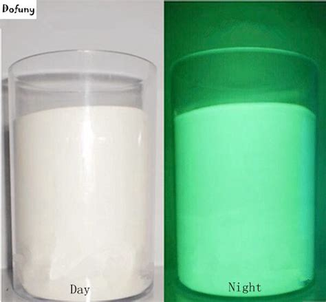 green color photoluminescent powder luminous phosphor