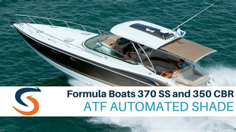 Formula Boats 350 Cbr For Sale by Formula Boats 370 Ss And 350 Cbr Retractable Shade Demos