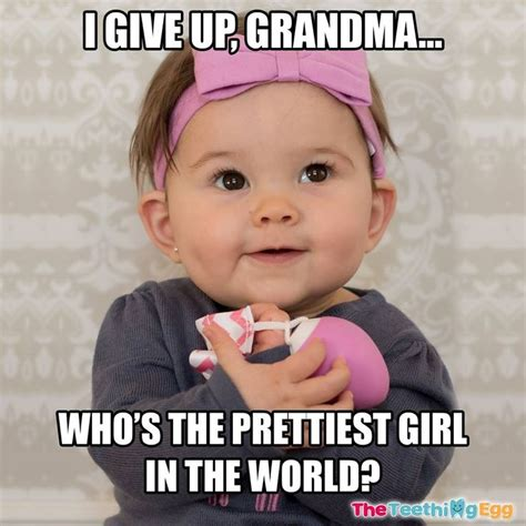 Baby Meme 20 Totally Adorable Baby Memes That Will Make You Smile