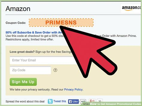 How To Get Amazon Promotional Codes (with Pictures) Wikihow