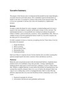 executive summary resume marketing marketing plan executive summary