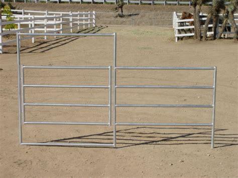 corral horse gate rail panels corrals