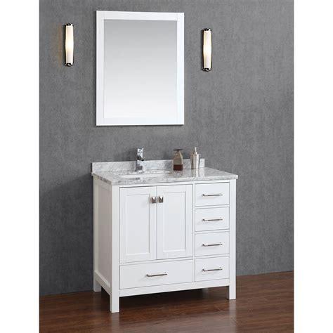 solid wood bathroom vanity with antique look the homy design