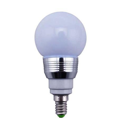 3w e27 e14 b22 rgb 16 color change led light bulb ir
