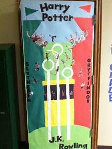 Harry Potter Decoration : harry potter classroom door decoration teaching ~ Dode.kayakingforconservation.com Idées de Décoration