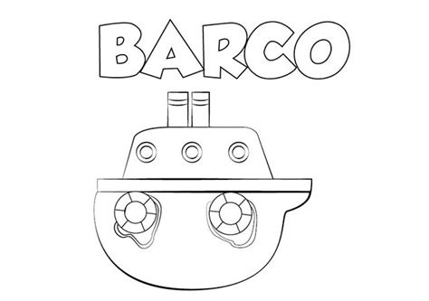 Barcos Para Dibujar Y Colorear by Dibujo Barco Para Imprimir Y Colorear