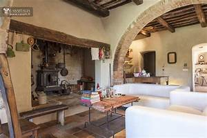 Toscana Val d'Orcia Casale di lusso in vendita