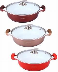 Töpfe Keramik Beschichtung Test : kochtopf topf t pfe pfanne induktion keramik 3 farben 4 gr en 26 28 30 32cm ebay ~ Markanthonyermac.com Haus und Dekorationen