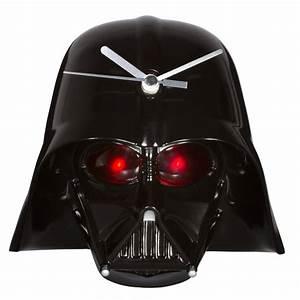Star Wars Wanduhr : darth vader 3d wanduhr getdigital ~ Frokenaadalensverden.com Haus und Dekorationen