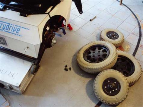 The Gallerydrive Project Homepage Wheelchair Modding