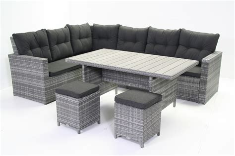 wicker loungeset aanbieding loungesets buiten lounge tuinset houten en wicker