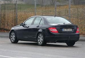 Mercedes Classe C 2009 : mercedes classe c my 2011 foto spia ~ Melissatoandfro.com Idées de Décoration