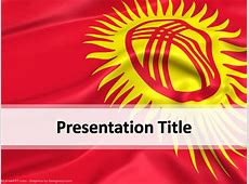 Kyrgyzstan PowerPoint Template Download Free PowerPoint PPT