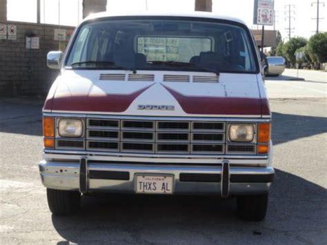 purchase   owner  dodge ram van conversion