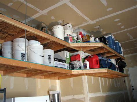 simple floor diy garage storage