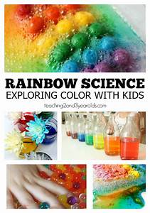 15 rainbow science activities for toddlers and preschoolers