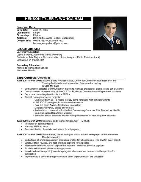 Bewerbung Lebenslauf Muster by 12 Exle Of Applying Resume Penn Working Papers