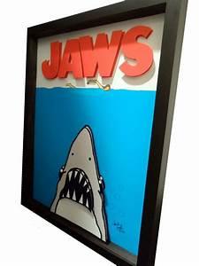 3d Pop Art : jaws movie poster 3d pop art pop art movies and art ~ Sanjose-hotels-ca.com Haus und Dekorationen