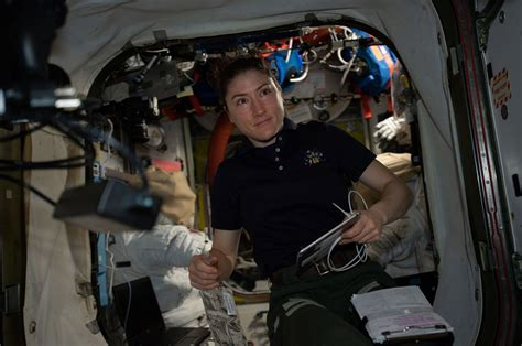 breaking records astronaut christina kochs extended space mission