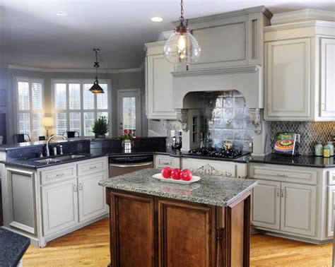 painting kitchen cabinets before after you considered grey kitchen cabinets