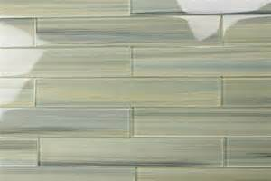 light green blue gray 2x12 subway glass tile for kitchen