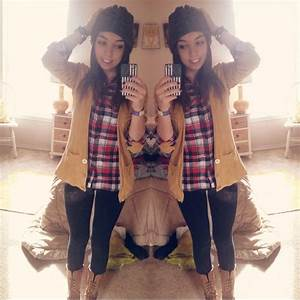 red plaid flannel . mustard cardigan . Black leggings ...