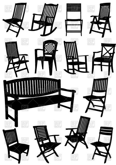 garden chairs clipart   cliparts  images