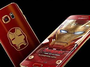 Samsung launching an 'Iron Man' Galaxy S6 Edge to promote ...
