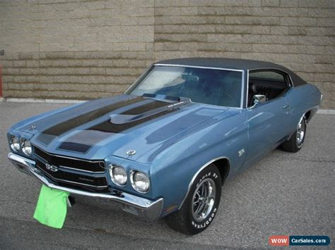 Chevrolet Chevelle Ss For Sale by 1970 Chevrolet Chevelle For Sale In Canada