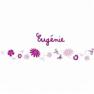 frise fleurs rose lili pouce boutique deco chambre With tapis chambre bébé avec envoyer des fleurs a new york