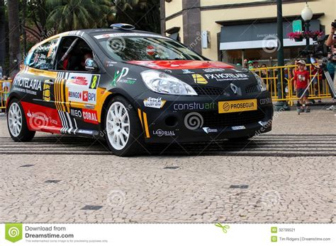 renault clio rally car renault clio rally car stock image image 32799521