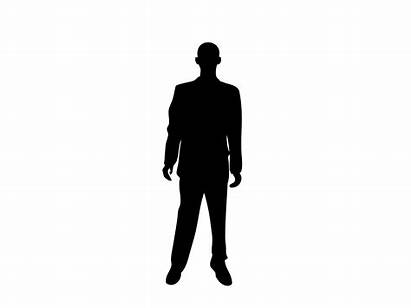 Silhouette Standing Person Clipart Transparent Books Clip