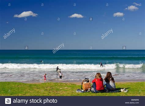 Great Ocean Road Lorne Beach Stock Photo Alamy