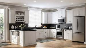 Shaker, Pantry, Cabinets, In, White, U2013, Kitchen, U2013, The, Home, Depot