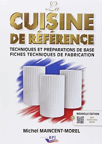 livre cuisine de reference pdf la cuisine de référence pdf livre pdf