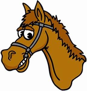 Cartoon horse head clipart - Clipartix