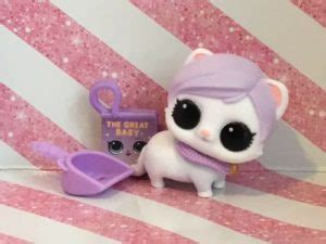 pushistye pitomtsy lol surprise fuzzy pets makeover