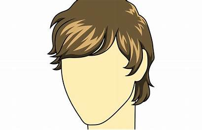 Hair Male Drawing Mens Wig Clipart Draw