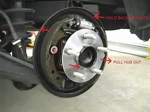 Car Wheel Bearing Diagram
