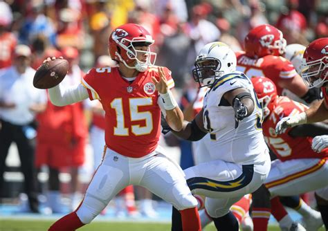 kansas city chiefs  host chargers ravens  colts